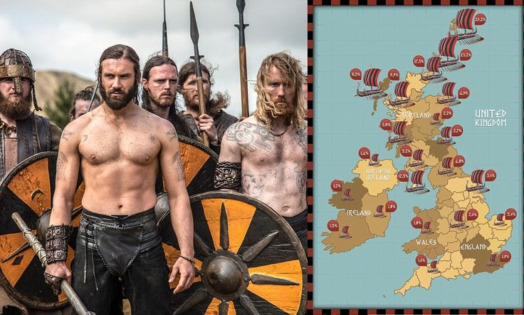 A million Vikings still live among us: One in 33 men can claim to be direct descendants from the Norse warriors Around 930,000 people can claim to be of direct Viking descent A study compared Y chromosome markers to estimated Viking DNA patterns The Viking DNA patterns are rarely found outside Scandinavia