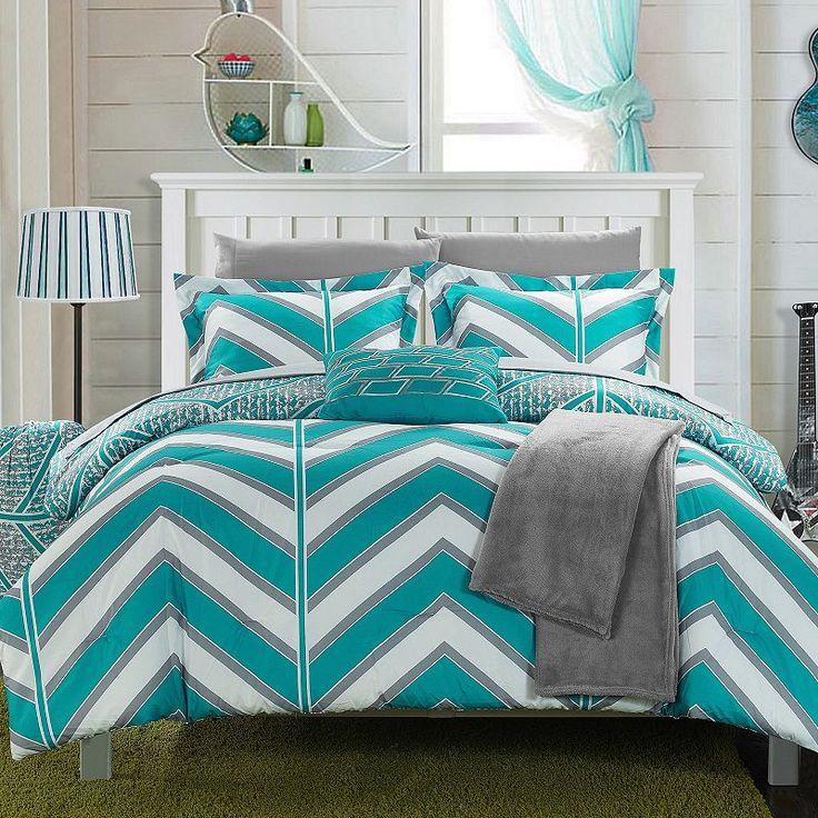 Laredo Chevron Comforter Set,