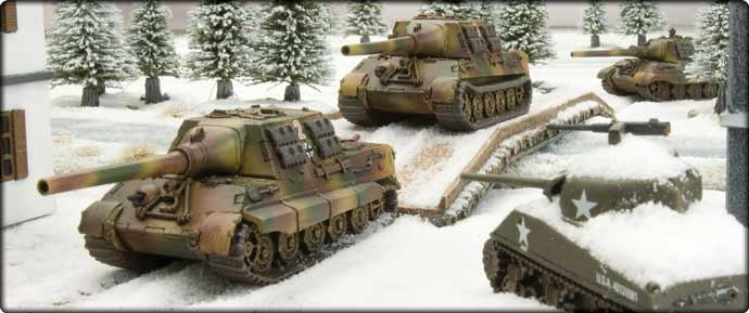Nuts: The Siege of Bastogne, Battle of the Bulge, December 1944 - Jagdtigers coming soon!!!  Is it considered unmanly to squee???