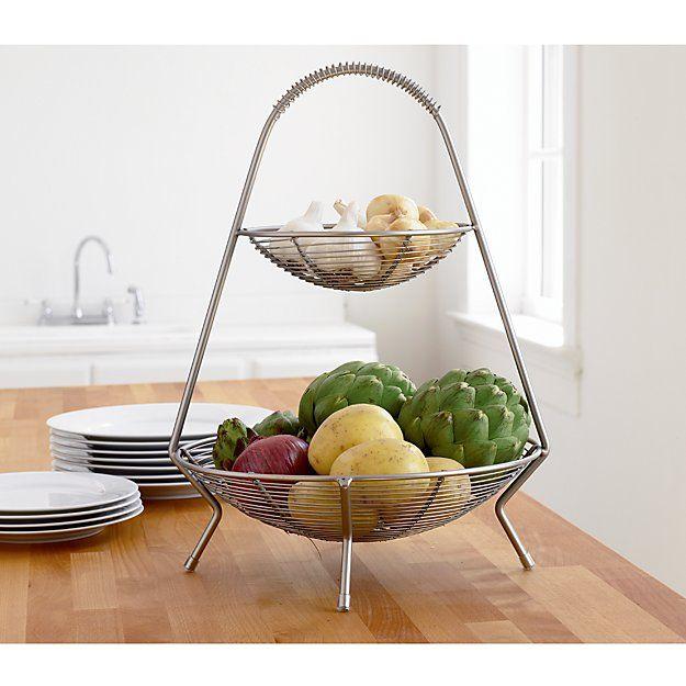Kitchen Vegetable Storage Baskets: Best 25+ Wire Fruit Basket Ideas On Pinterest