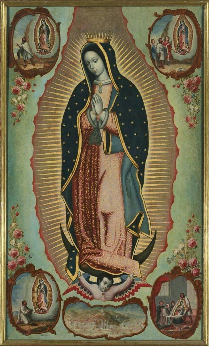 Imagen De Maria Andrea En Mis Santitos En 2020 Virgen De