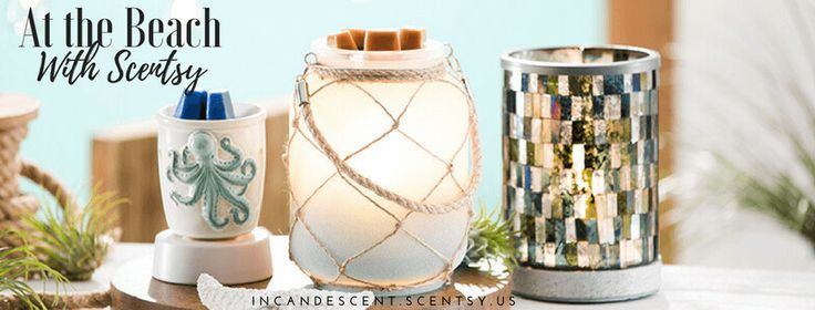 SCENTSY BEACH THEME WARMERS | Scentsy® Buy Online | Scentsy Warmers and Scents | Incandescent.Scentsy.us
