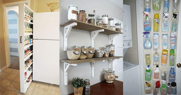 Oft haben wir nicht genug Platz in unserer Küche. Zudem leben wir leider nicht alle in einer großen Villa mit einer enormen Kochinsel. Zum Glück gibt es genug DIY-Ideen, um den Platz in unseren Küchen optimal zu nutzen. Schauen Sie sich schnell diese 16 praktischen Ideen an…