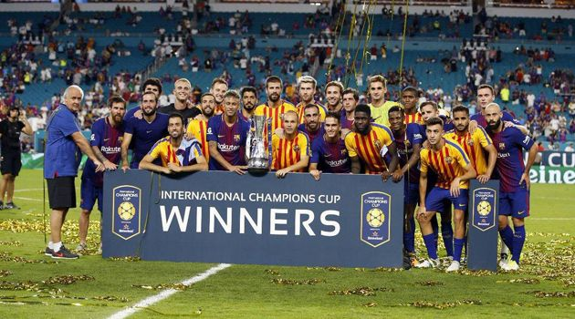 El Clasico: Barca beat Madrid to win International Champions Cup       The El Clasico clash between Real Madrid and Barcelona on foreign  s...