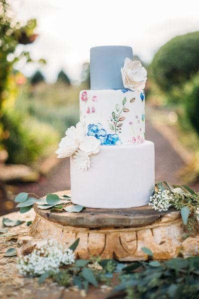 Whimsical cake: http://www.stylemepretty.com/little-black-book-blog/2015/02/18/southern-style-bohemian-wedding-inspiration/   Photography: Kayla Coleman - http://kaylacolemanphotography.com/