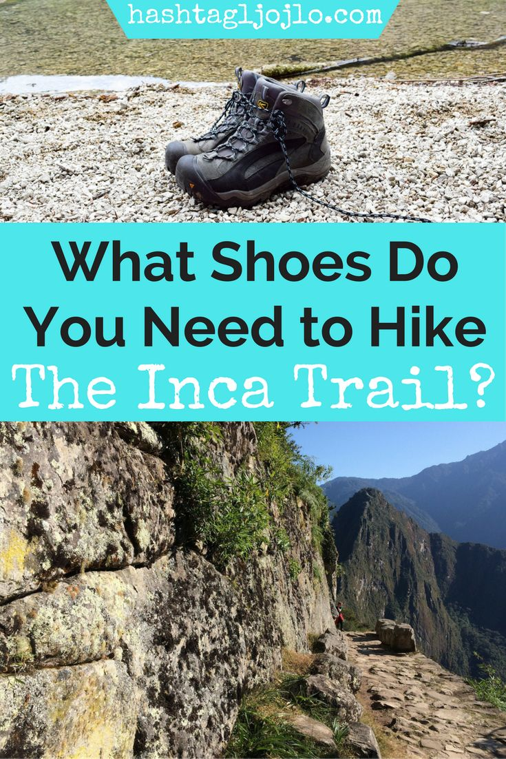 Choosing the right hiking shoes to hike the Inca Trail can be a challenge. We will give you three great options for hiking shoes ranging from sneakers to full on hiking boots. We will tell you why we love each pair of hiking shoes and help you choose the one that's best for you. Make sure you save this hiking gear post to your travel board so you can find it later.
