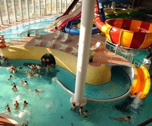 Aquapolis in Szeged #Hungary #wellness #spa #bath #aquapark