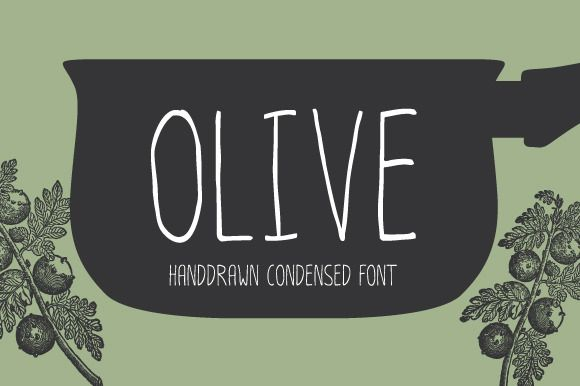 Olive by Typesketchbook Foundry on @creativemarket