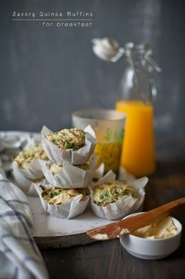 Savory Quinoa Breakfast Muffins   Guest Post for Vijitha @ Spices and Aroma    Playful Cooking