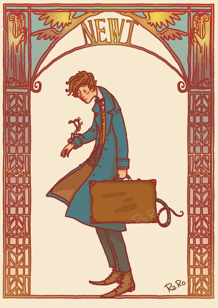 NEWT SCAMANDER I saw the movie and is amazing. I... - Ra.Ro81