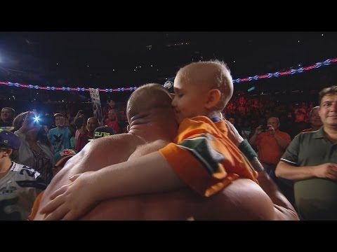 Two WWE Superstars Stopped A Live Event To Make A Cancer Survivor's Day