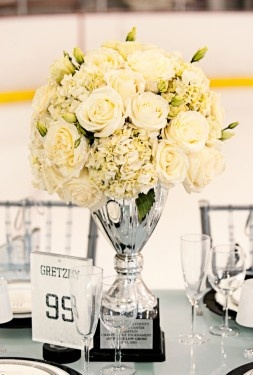 Hockey Trophy Centerpiece