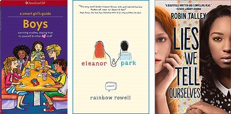 A Mighty Girl's top picks of books about healthy relationships for tweens and teens in recognition of Teen Dating Violence Awareness Month.