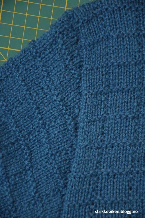 Hvordan sy i armer på strikkejakker og -gensere? (Strikkepiken)