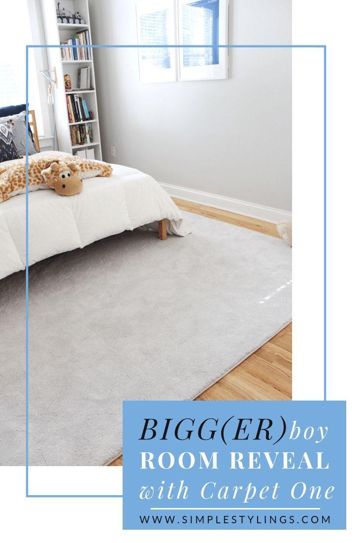 Bigg Er Boy Room Makeover With Carpet One The Reveal Boy Room Home Depot Carpet Bedroom Carpet