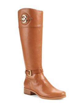 MICHAEL Michael Kors MICHAEL Michael Kors  Stockard Leather Riding Boot