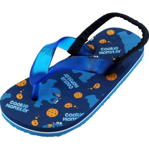Cookie Monster Toddler Flip Flops Sandals CFL3493 (9/10) Sesame Street http://www.amazon.com/dp/B00I5OW6XW/ref=cm_sw_r_pi_dp_PkZ.tb1SJYT19
