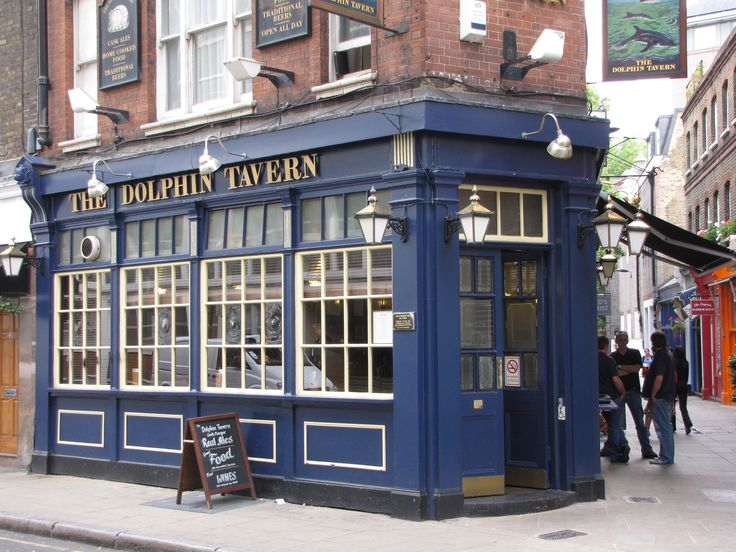 London - The Dolphin Tavern. 44 Red Lion St, London WC1R 4PF, Reino Unido