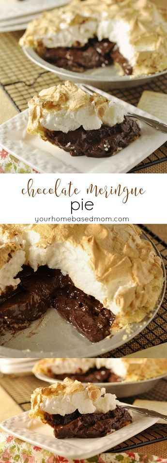 Chocolate Meringue Pie - my grandmother's recipe