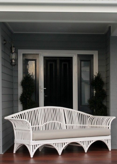 For the sunroom and to pop outside under the shade