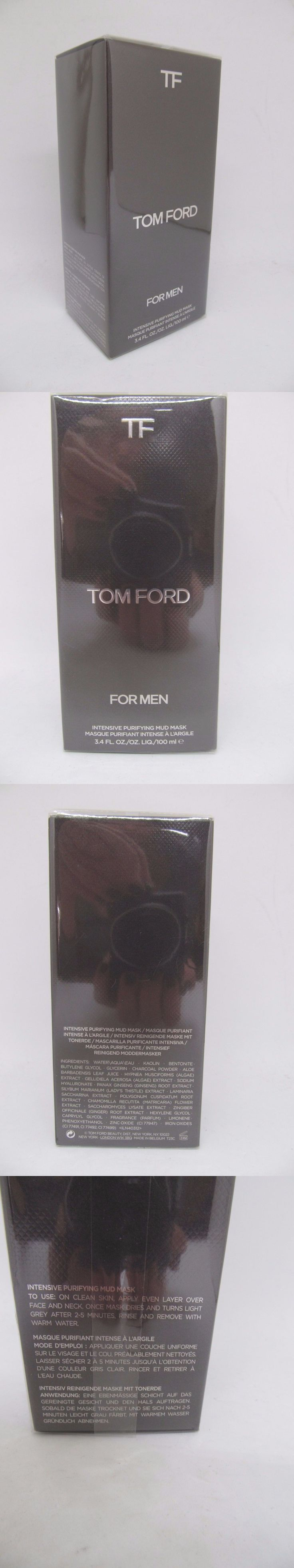 Aftershave and Pre-Shave: Tom Ford For Men Intensive Purifying Mud Mask 3.4 Fl. Oz. 100 Ml Nib -> BUY IT NOW ONLY: $43.59 on eBay!