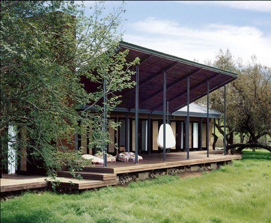 The original show house at Monaghan Farm.
