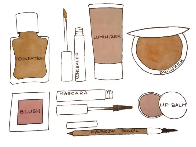 Makeup Illustration by Ana for Better Than Ann