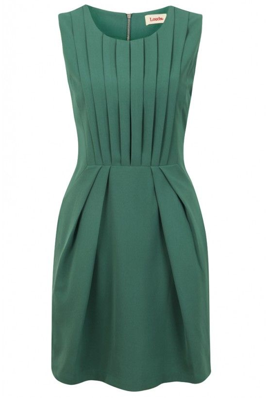 Louche Renn Pleat Front Dress