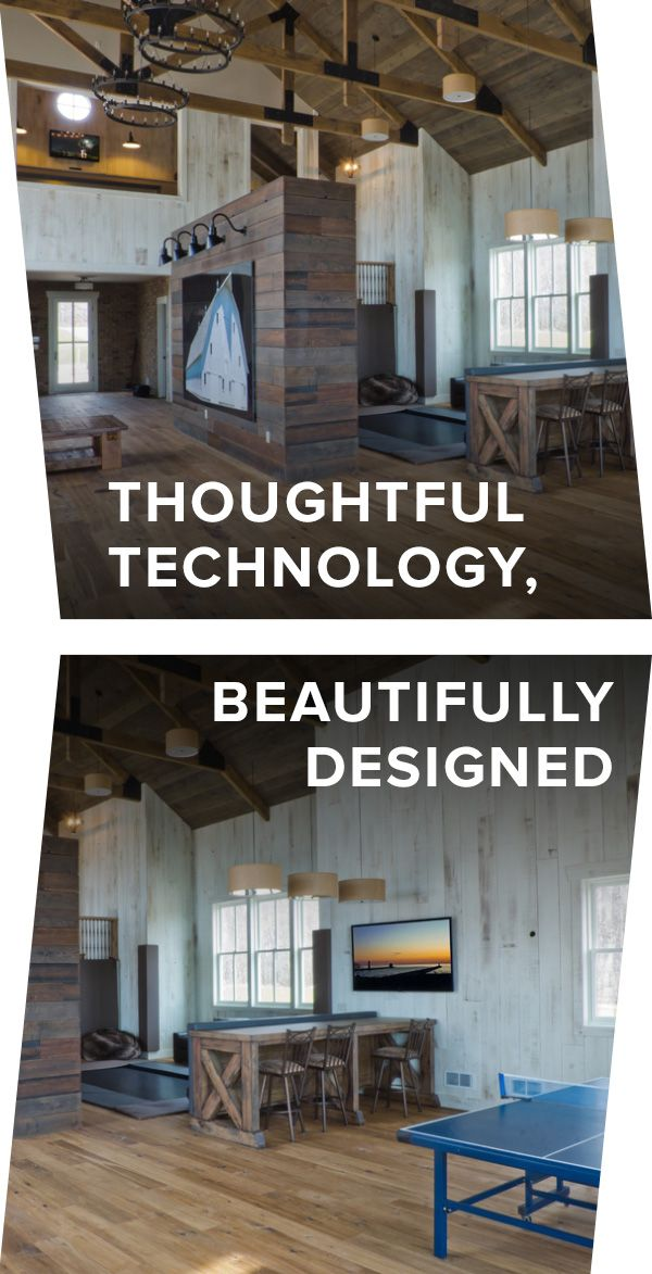Let A CEDIA Member Design The System Of Your Dreams. This Homeowner Used  CEDIA To Integrate Audio And Visual Technology In A Way That ...