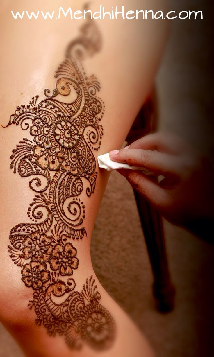 This is a pretty design...just not on my thigh lol