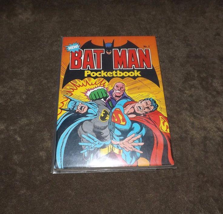 New Batman Pocketbook Nr.1.. Unead in In Plastic..