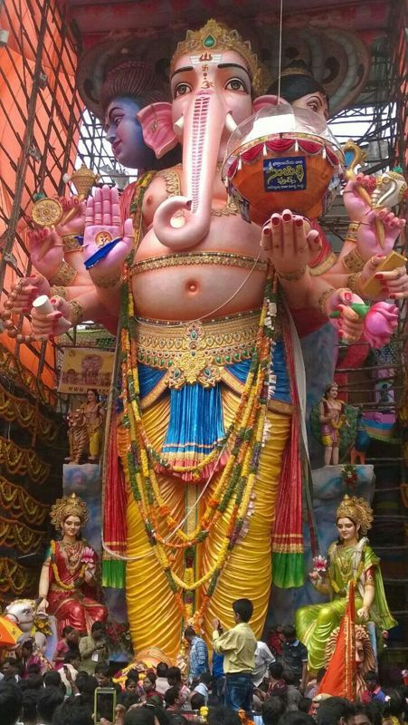 60ft. Ganapati festival pic from South India