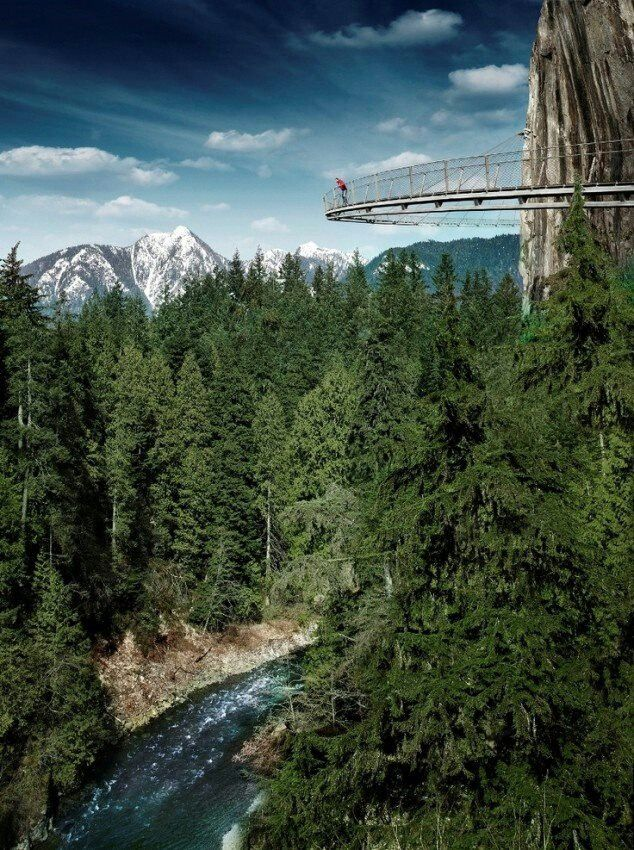 Capilano Suspension Bridge, Vancouver BC, Canada