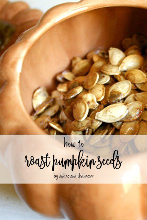 After you carve your pumpkin, save the seeds and check out this delicious savory recipe for roast pumpkin seeds!