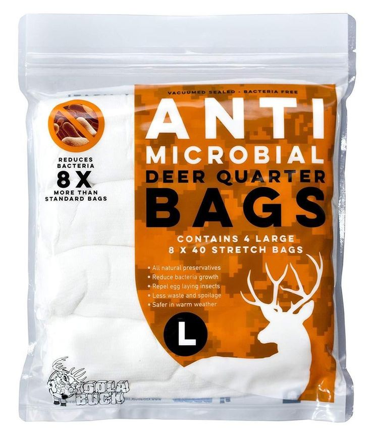 New Deer Hunting Buck Antimicrobial Game Bags Protect Meat