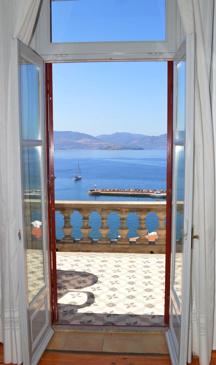 A Door to #Aegean #Sea at Villa Molova  #Molyvos, #Μήθυμνα, #Lesvos, #Greece