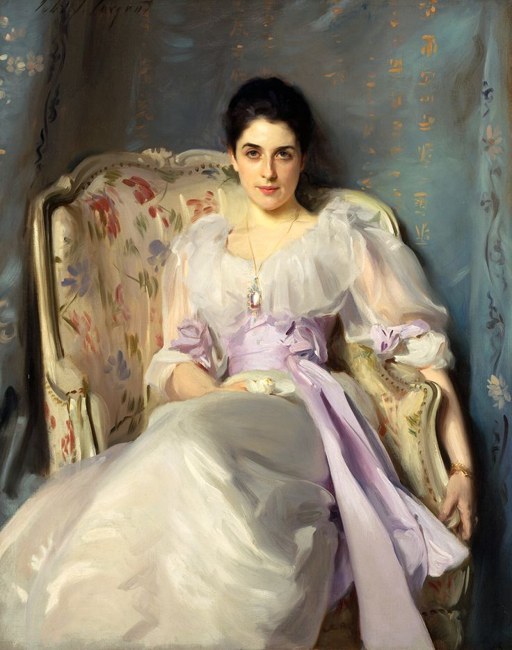 """Lady Agnew of Lochnaw,"" by John Singer Sargent. One of the reasons we love visiting the Frick Museum in NYC. -- exquisance.com"