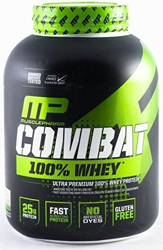 Muscle Pharm Combat 100% Whey Protein Powder Vanilla 5 Pound
