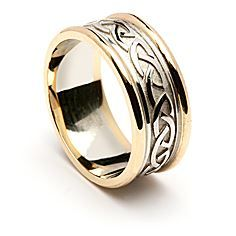 Picture of Beibhinn Celtic Knot Wedding Ring