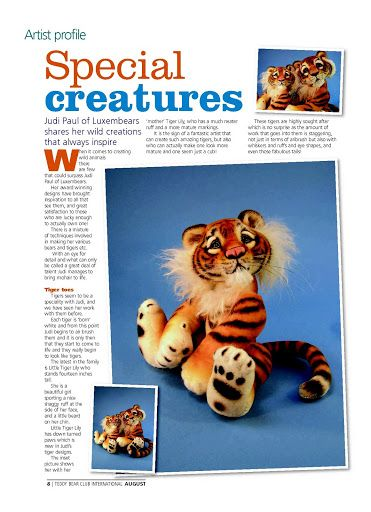 Free #Tiger #Pattern - Plus a lot of other animal patterns