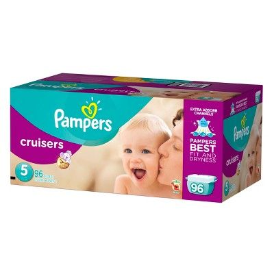 Pampers Cruisers Diapers, Giant Pack - Size 5 (96 ct)