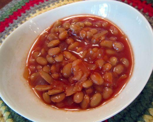 Maple Baked Beans Crockpot