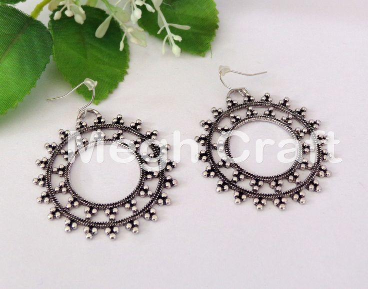 oxidized Silver Plated earring for woman, oxidized Silver Plated earring for for girl, oxidized Silver Plated earring for for female, BY #meghcraft #craftnfashion #CraftsOfGujarat #indianethnicjewelry #IndianTraditionalJewelry Megh Craft - Indian Ethnic Jewelry Whatsapp : +91 9375519381  E-mail : craftnjewelery@gmail.com