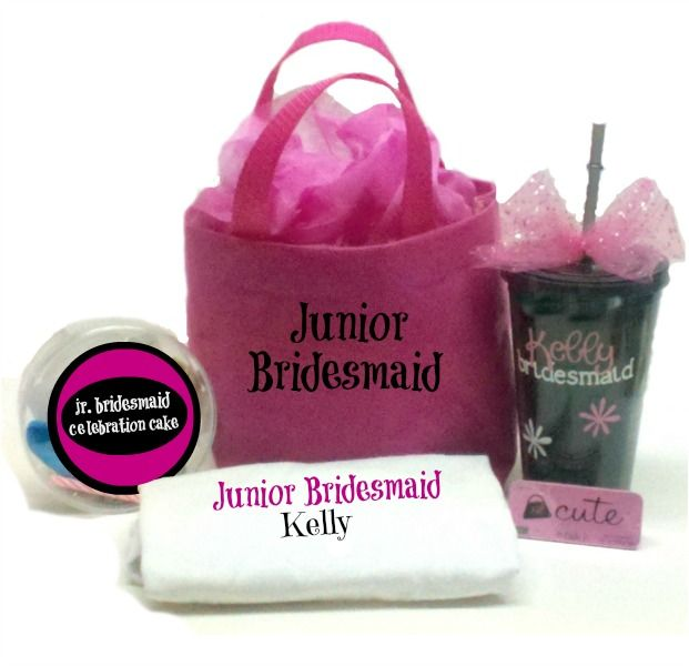 Perfect junior chick kit for the junior bridesmaid in your wedding.