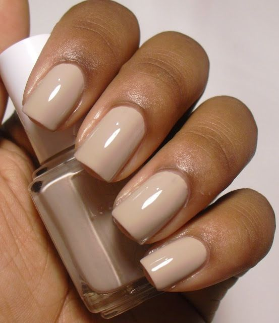 Essie Sand Tropez. The perfect nude nail for brown skin