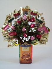 Candy bouquet ideas