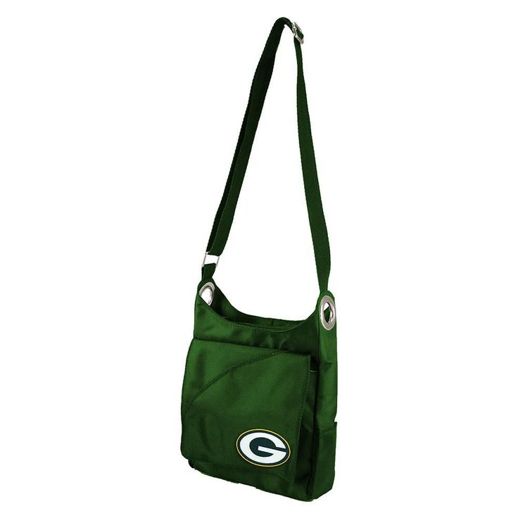 The ultimate accessory for all sports loving women, the Color Sheen Cross-body by Little Earth is a must-have. Extremely convenient with the adjustable strap, extra compartment with magnetic flap clos