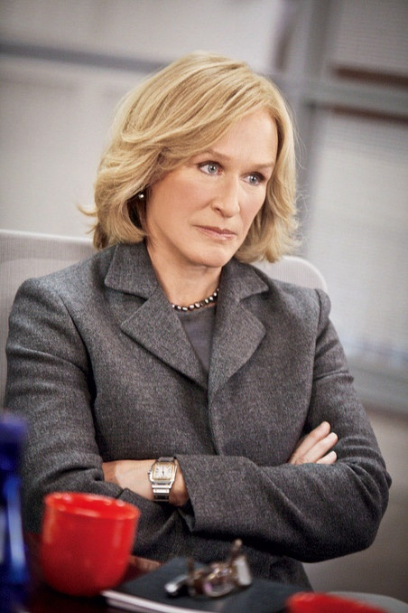 #Damages Glenn Close as Patty Hewes