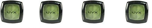 (Pack of 4) - NYX Single Eye Shadow, 47 Kiwi. 47 Kiwi = Pack of 4. Delivers intense color, silky-smooth application and long-lasting wear. Finely milled powder formulation glides on like cream. Unmatched selection of colors and textures. 0.088 Ounce.