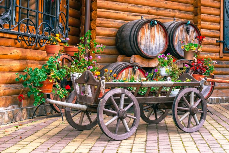 Wooden Cart Jigsaw Puzzle In Puzzle Of The Day Puzzles On